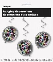 Happy New Year Hanging Decorations (3)